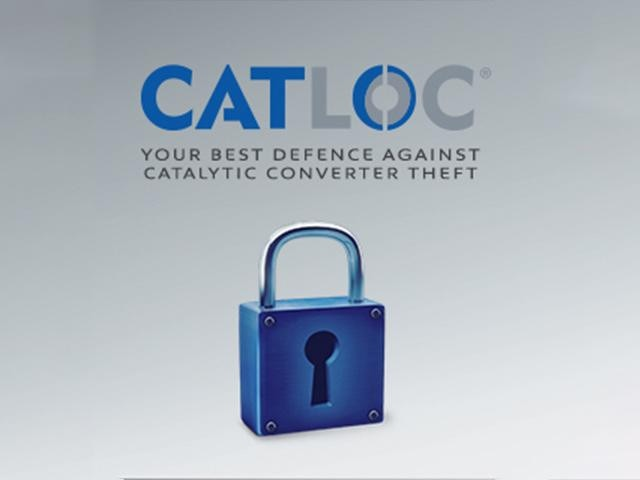 CATLOC Catalytic Converter Theft Prevention