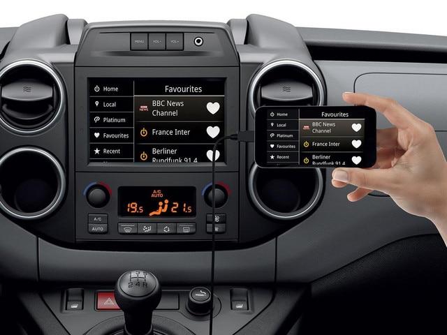 Peugeot Partner Mirror Screen