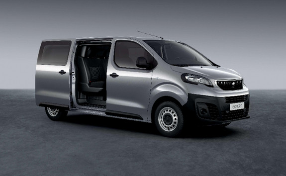 PEUGEOT EXPERT – Crew cab for up to six people