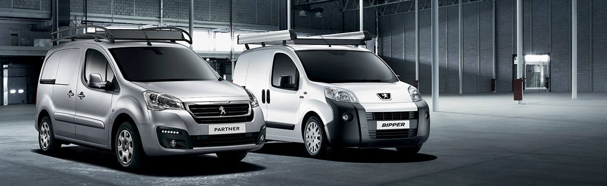 Peugeot Partner and Bipper