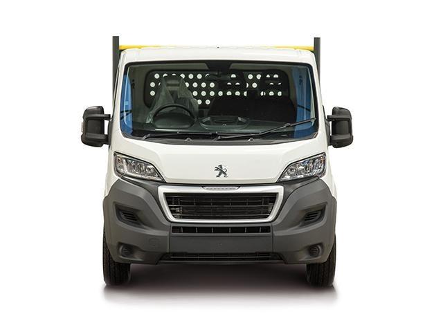 Peugeot Boxer Dropside Van Front View