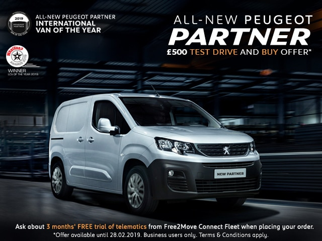 All-new Partner Van